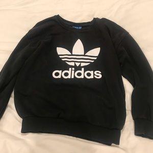 Adidas sweater in black